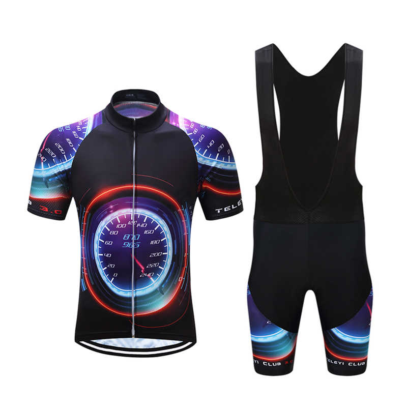 fc7897f7d ... Summer Men s Bicycle Jersey Kit Mountain Bike Clothing Uniform Sets  2019 Maillot Cycling Clothes Male Triathlon ...