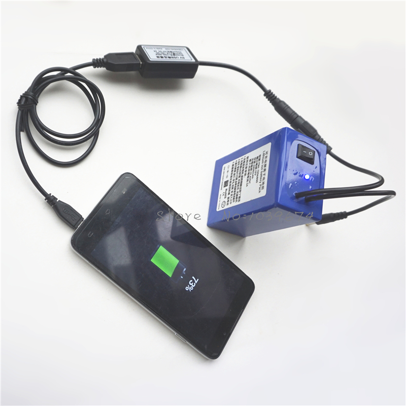 Free Charger for <font><b>12V</b></font> 6800MAH Li ion <font><b>3AH</b></font> Rechargeable <font><b>Batteries</b></font> for Power Bank with FREE 5V USB Charger,DIY Connector FREE DHL image