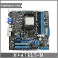 Para asus m4a78lt-m motherboard desktop soquete am3 ddr3 760g cm1730-01 mainborad original 100% testado