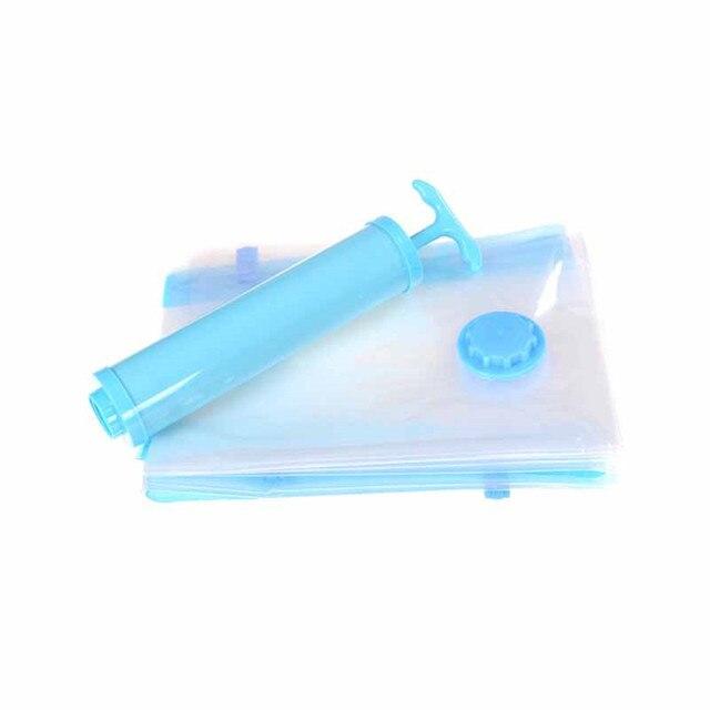 1pcs Hand Air Vacuum Pump For E Saver Saving Storage Bag Random Color Seal Compressed