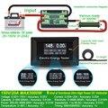 ATORCH DC medidores de corriente voltímetro digital amperímetro de voltaje amperimetro wattmeter volt capacity probador indicador lcd monitor