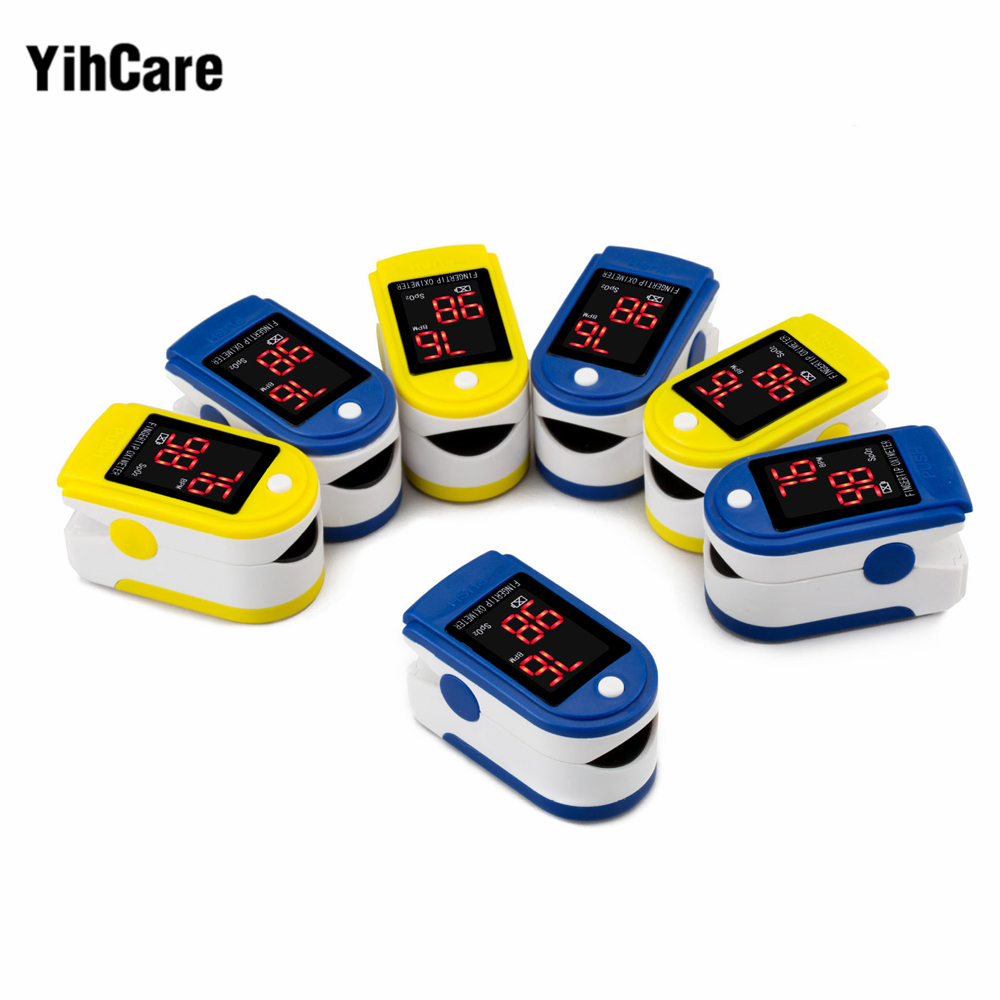 YihCare Fingertip Pulse Rate Oxygen SPO2 Oximeter Monitor CE FDA certified pediatric medical pulse oximeter for kids /adults