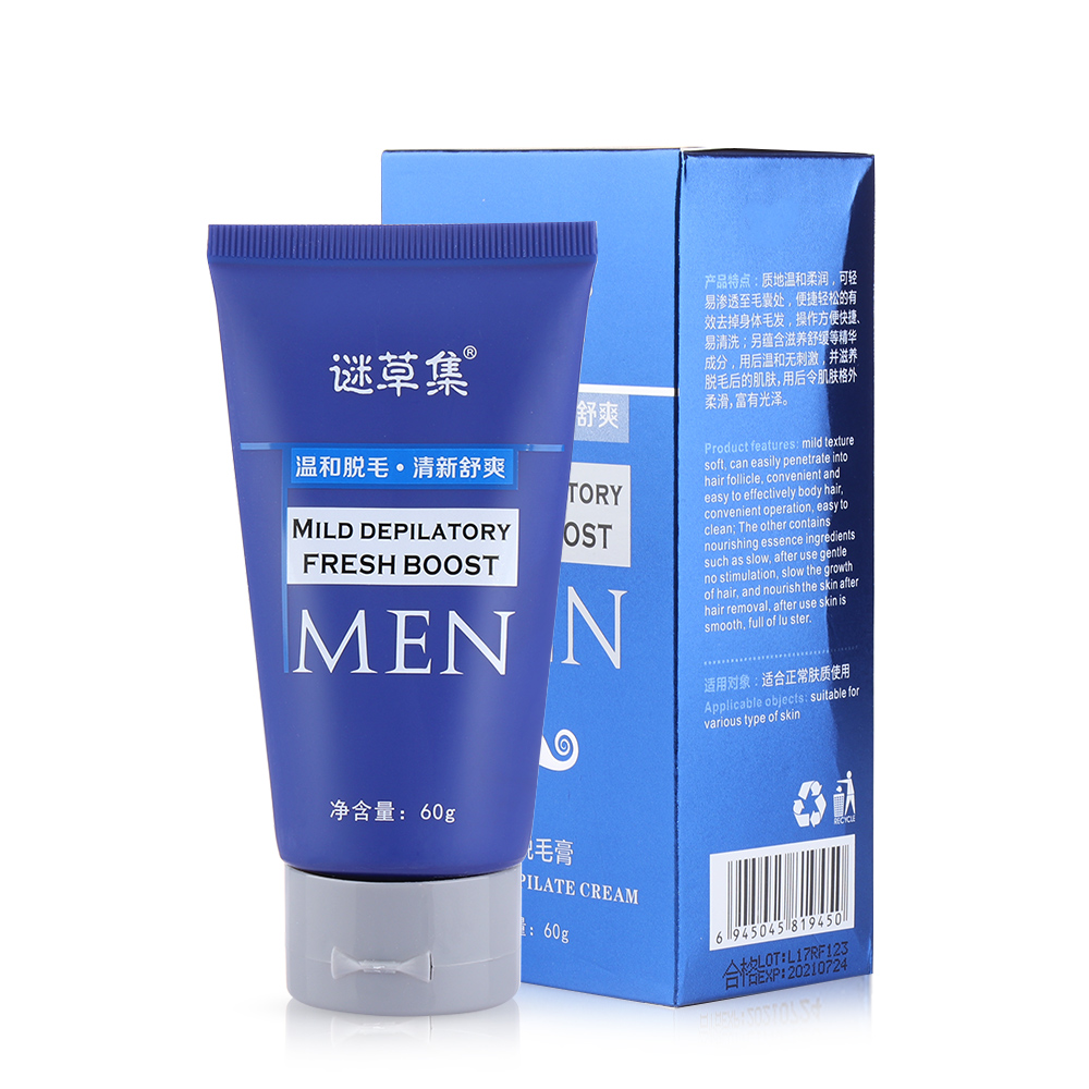 1PC Effective Men Painless Hair Removal Cream For Adult Depilatory Hand Armpit Leg Body Permanent Smooth Skin Health Caring