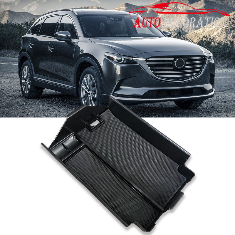 Car styling Interior Armrest Storage Box Decoration Auto Accessories Glove Case 1set For Mazda CX-9 CX9 2016 2017 2018 for mazda cx 5 cx5 2nd gen 2017 2018 interior custom car styling waterproof full set trunk cargo liner mats tray protector