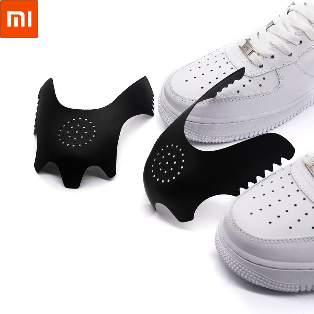Xiaomi proteção Mijia Aishoes Biqueira Anti-rugas Rugas Artefato Fit Sneaker respirável Nenhum corpo estranho sensation Escudo 63