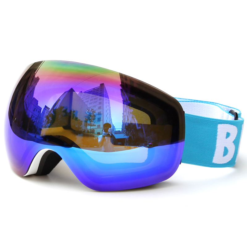In 2018, new snow goggles will prevent the ultraviolet radiation from fogging, and the eyes of both men and women will be widely