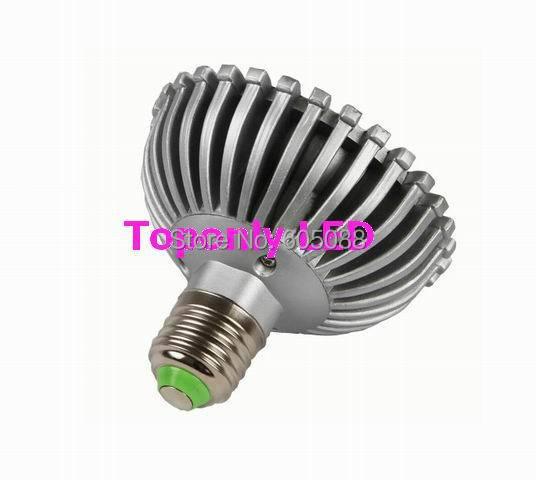 5 Вт epistar высокомощная Светодиодная лампа par30, e27 Светодиодный прожектор, AC85-265v, 500лм в белом цвете, CE& ROHS, 6 шт./партия