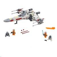 Starwars 05145 X Wing Star Fighter Building Blocks Compatible Legoinglys Star Plan Wars 75149 Building Educational Toys Children
