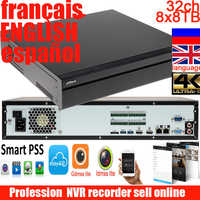 Spanlish englisch frankreich sprache NVR608-32-4KS2 32 Kanal Ultra 4K H.265 Netzwerk Video Recorder DH-NVR608-32-4KS2 32ch DVR