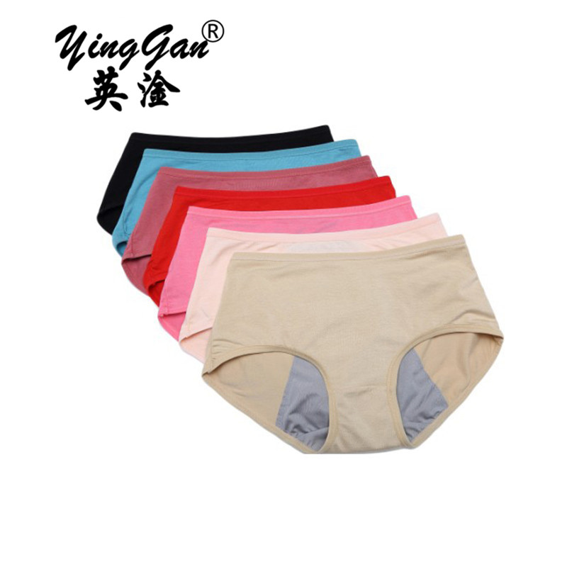 5piece/Physiological underpants Baby Girl Underwear Kids Panties Child's Underpants Shorts For Nurseries Children's Briefs8 -15y