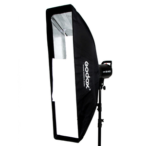 "Image 4 - Godox FW22 * 90 softbox 22x90cm 9 ""x 35"" נייד מלבני כוורת רשת Softbox רך תיבת עם Bowens הר לסטודיו פלאש"
