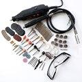 Ferramentas Elétricas Mini Broca Rotary Ferramentas e acessórios com 106 pcs discos de corte de brocas lixa de eixo flexível