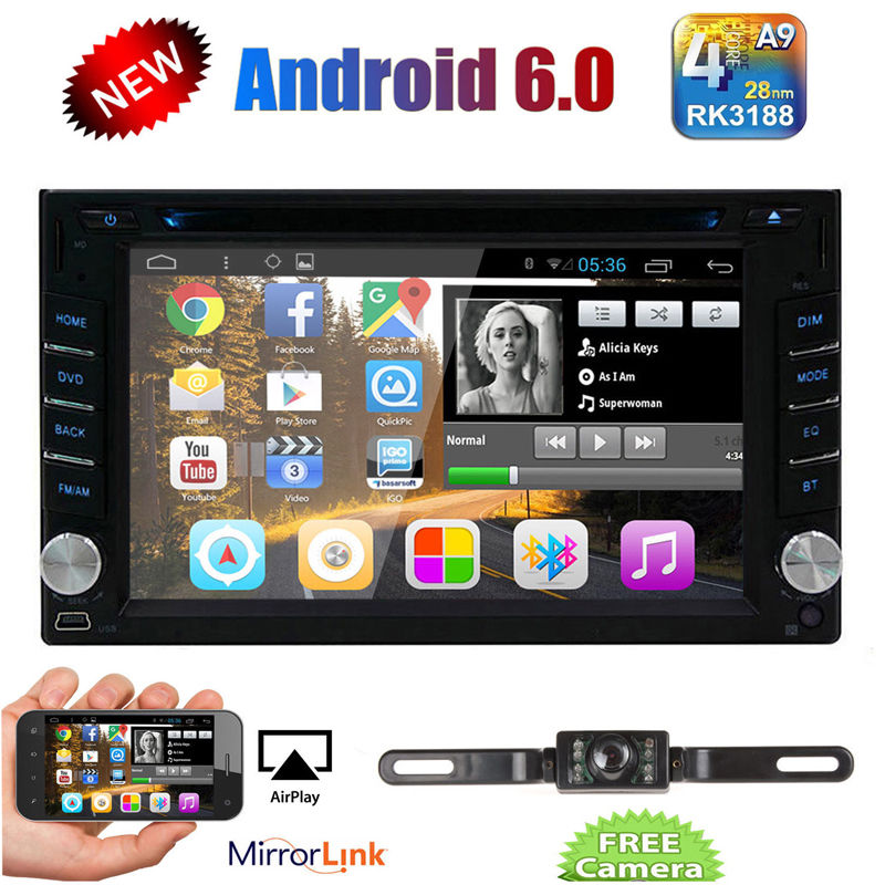 Android 6 0 Double 2DIN font b Car b font font b Radio b font Stereo