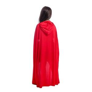 Image 5 - 女の子高輝度赤チェリー赤ずきんなくしフード甘い童話キャラクターハロウィンコスチュームあなたの小さな子供森冒険
