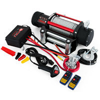 Motor Electric Winch Rope 12V Traction 6123KG 13500lbs Boat Rope Cable Winch Series Wound|Lifting Tools & Accessories| |  -