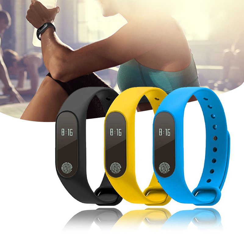 Sport Smart Wrist Watch Bracelet Display Fitness Gauge Step Tracker Digital LCD Pedometer Run Step Walking Calorie Counter