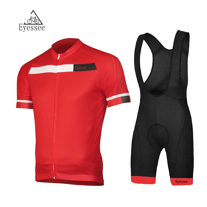2018 Mens Cycling Jersey cyclisme equipe pro MTB Bike Clothing Eyessee Team Cycling Clothing Ropa Ciclismo Jerseys