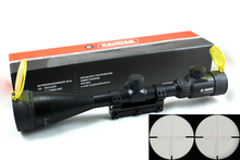 Hunting Riflescope KANDAR 4.5-14×50 AOE RED Special Cross Reticle Sniper Optic Scope Sight FOR Rifle One Piece 11mm Rail