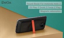 Pour motorola moto Z2 Jouer Z Droid Z Force Z Jouer Z téléphone DnGn pour moto mods SoundBoost Haut-Parleur Magnétique adsorption livraison gratuite