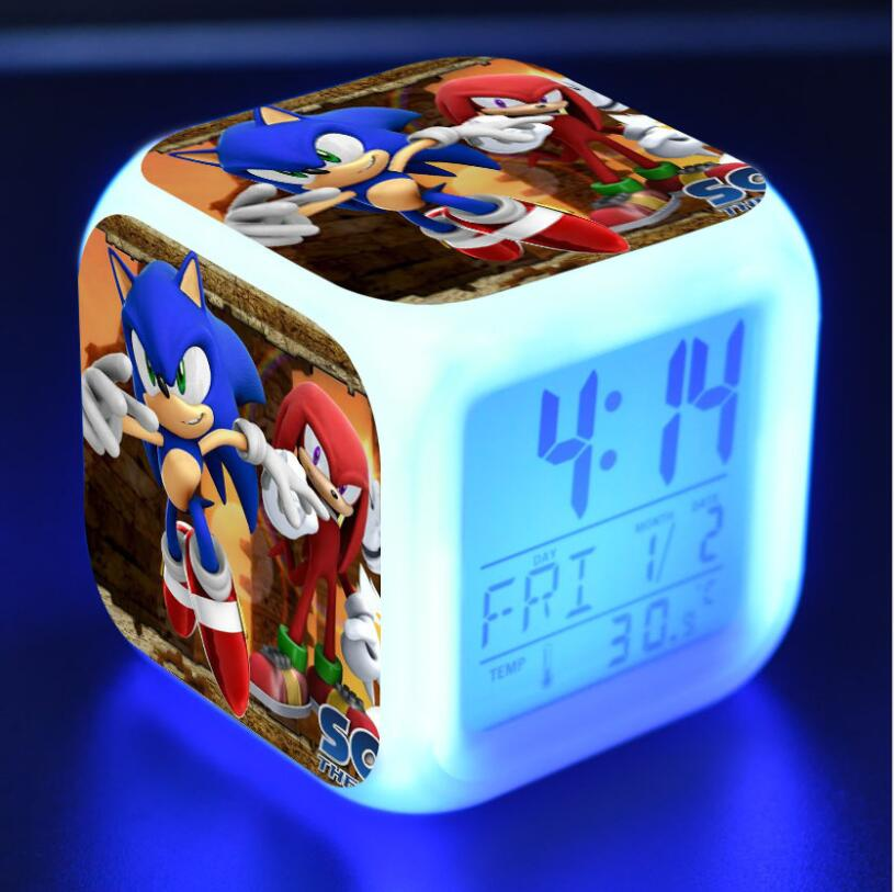 Sonic The Hedgehog LED Cube Alarm Clock 32
