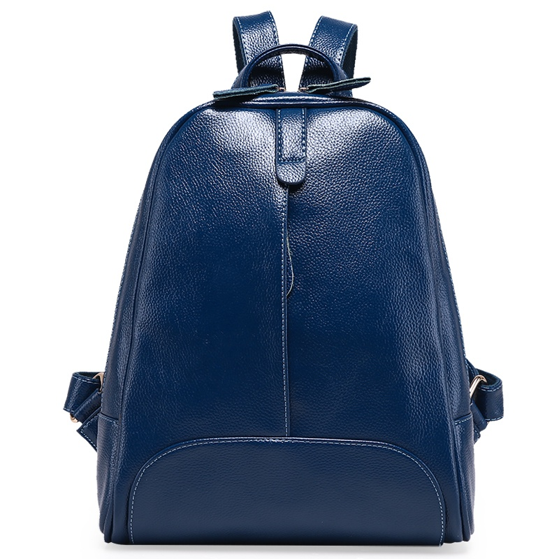 где купить Design Leather Embossed Women's Backpack College Wind School Bag Large Capacity Female Women Travel Backpack For Teenagers Girls по лучшей цене
