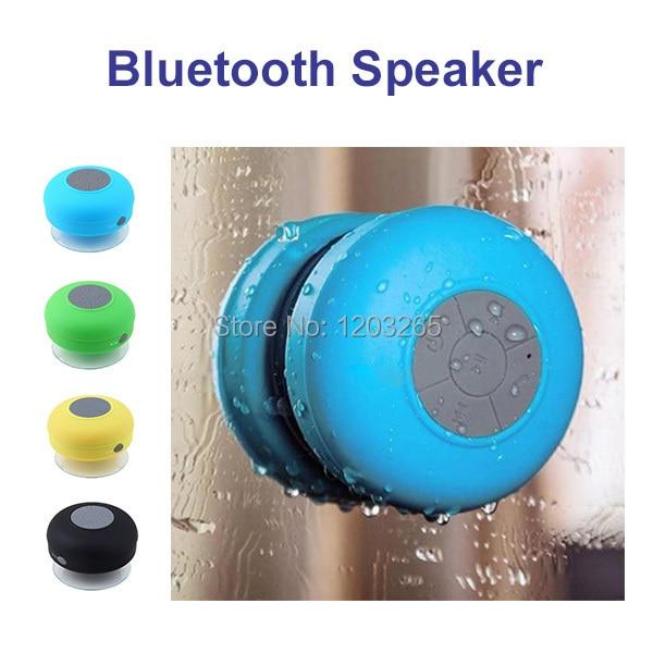Portable Waterproof Wireless Bluetooth Speaker Shower Car Handsfree Receive Call Music Suction