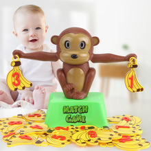 Monkey Number Balance Math Toys Match Balancing Scale Game  Board Educational Toy For Child To Learn Add And Subtract