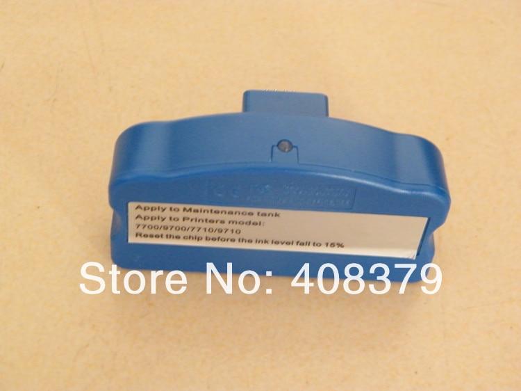 chip resetter for Stylus pro 9700 printer maintenance tank chip waste ink tank chip resetter for epson 9700 7700 7710 9710 printers maintenance tank chip reset