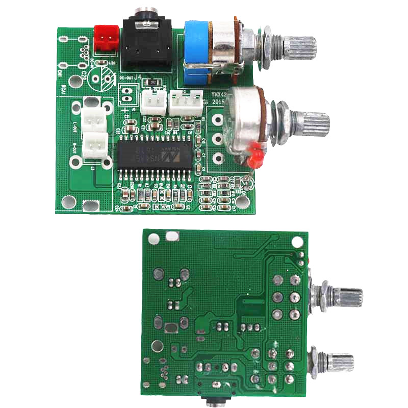 DC 5V 2.1 Channel Power Amplifier Audio Board Stereo Class D Digital DIY MP3 Voice Sound Module 20W MP006 image