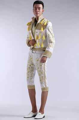 9780d523f7cc4 Court blazer men formal dress latest coat pant designs suit men spanish  bullfighting suits for men's singer dance red white