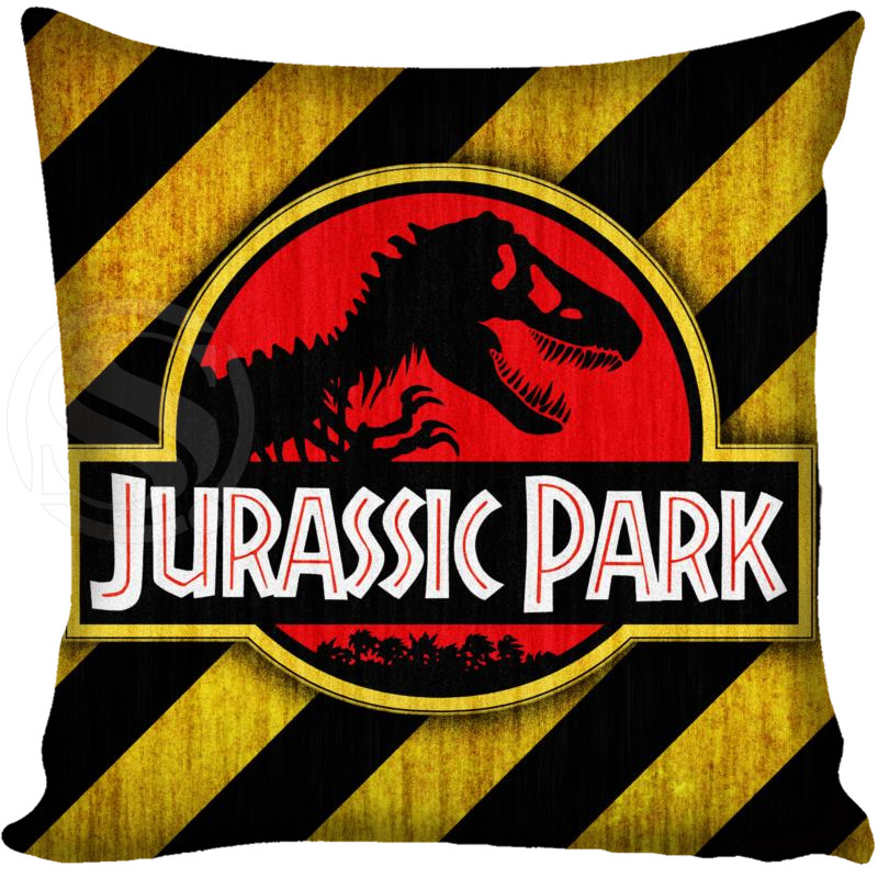Aliexpress Buy Customized Pillow Cover Jurassic Park Logo