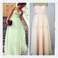 Cheap 2016 Sweetheart Chiffon Backless Bridal Gowns Vestido De Festa Bridesmaid Dresses Under 100 Formal Party Dress