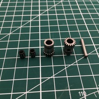 Free Shipping Steel Bondtech Pulleys For DIY Prusa I3 MK3 3d Printer And Upgrade Prusa I3