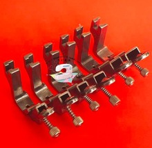 3/8 (elastic band width: 9.5mm)-For  Industrial Sewing Machine Flat Car Elastic Steel Presser Foot