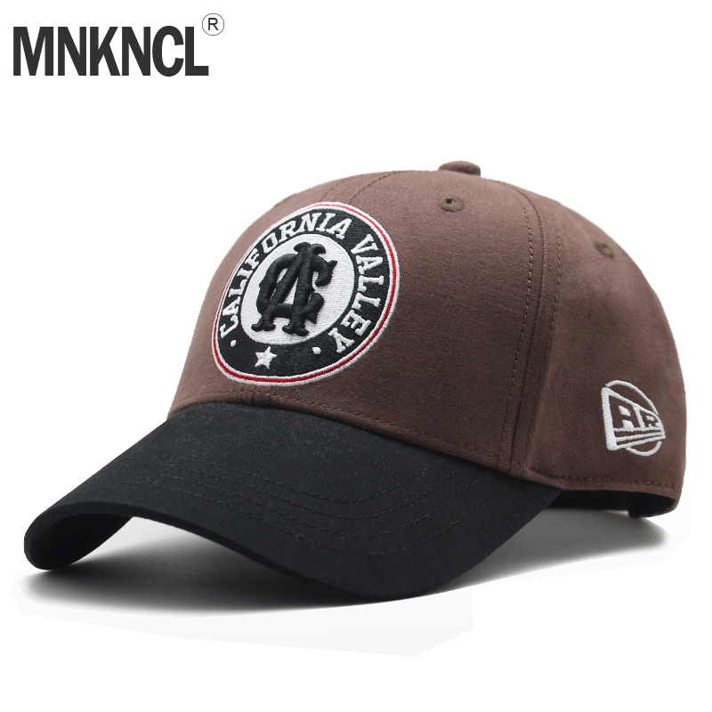 MNKNCL High Quality Unisex 100% Cotton Outdoor Baseball Cap Letter Embroidery Snapback Fashion Sports Hats For Men & Women Caps bone para bordar