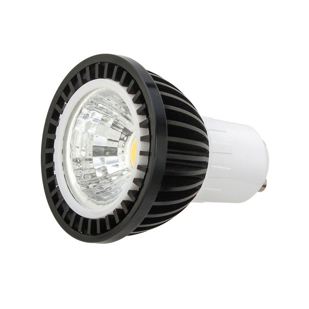 10pcs Super Bright GU 10 Bulbs Light Dimmable Led 85-265V 5W 7W 9W GU10 COB LED lamp light GU10 e14 e27 led Spotlight