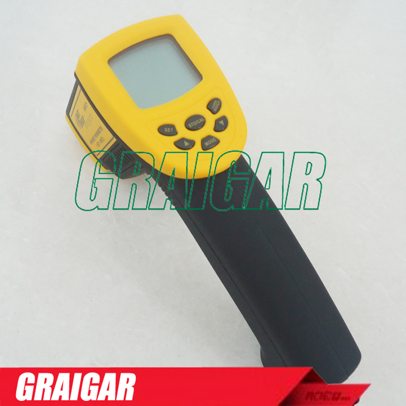 Умный датчик цифровой инфракрасный термометр 18 ~ 1350C ( 58 ~ 2282F) AR872 + ИК лазерная точечная пушка Бесконтактный инфракрасный термометр