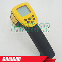 Smart Sensor Digital Infrared Thermometer 18~1350C ( 58~2282F) AR872+ IR Laser Point Gun Non Contact Infrared Thermometer