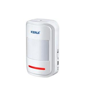 Image 5 - KERUI WP7ที่มีประสิทธิภาพไร้สายWiFi Burglar Home Security Alarm System AppควบคุมอินฟราเรดPIR Motion Detector Alarm