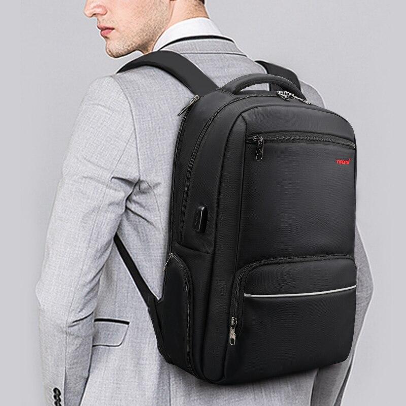 BOPAI, брендовый Многофункциональный рюкзак для путешествий, сумка, большая вместительность, наплечная сумка, рюкзак для ноутбука, модный муж... - 2