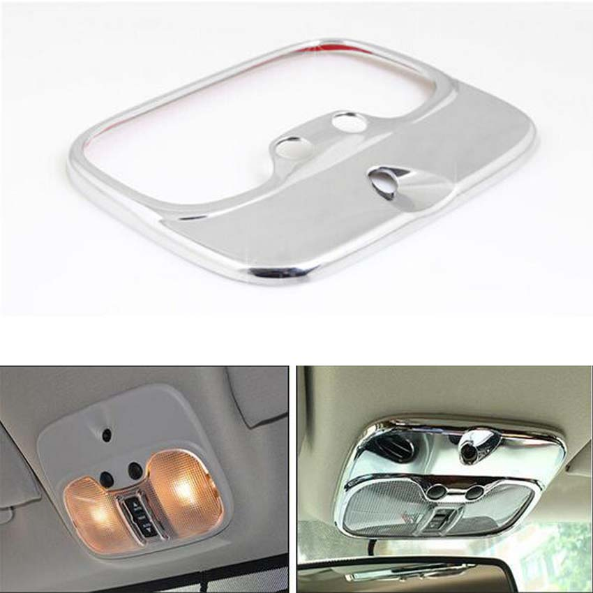 Interior Front Roof Dome Reading Light cover trim Fit For JEEP COMPASS 2011-15