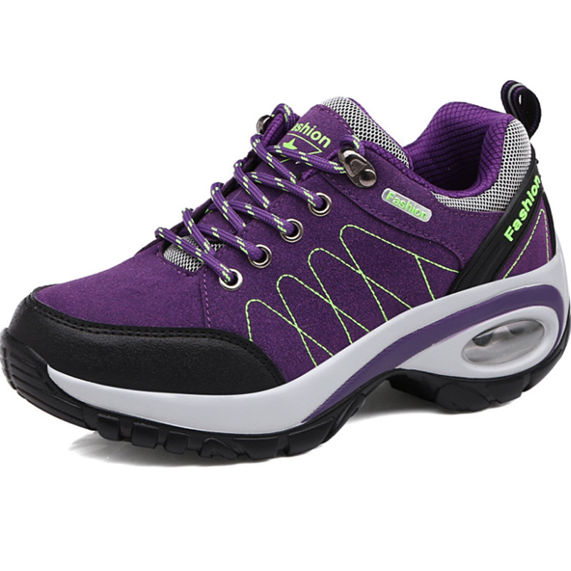 High Quality Sneakers Women Baskets Femme Running Shoes Woman Leather Sport Air Damping Athletic Zapatillas Deportivas Mujer