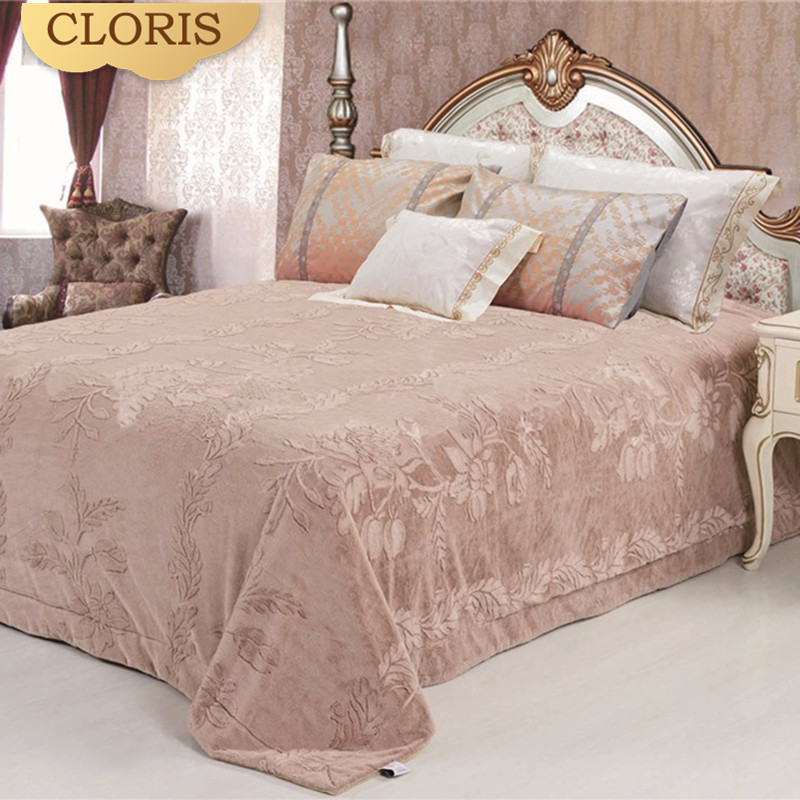 CLORIS Comforter Luxury Bedspread Quilt Coverlet 220 240cm Queen King Twin Size Blanket On The Sofa