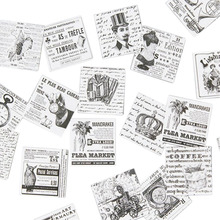 45pcs/pack Vintage Modern Life Album Paper Lable Stickers Scrapbooking Adhesive DIY Decoration Diary