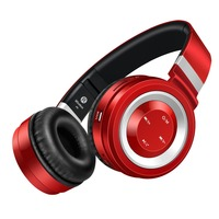 New P6 Portable Wireless Bluetooth 4 0 Headphones With Microphone Support TF Card FM Radio For