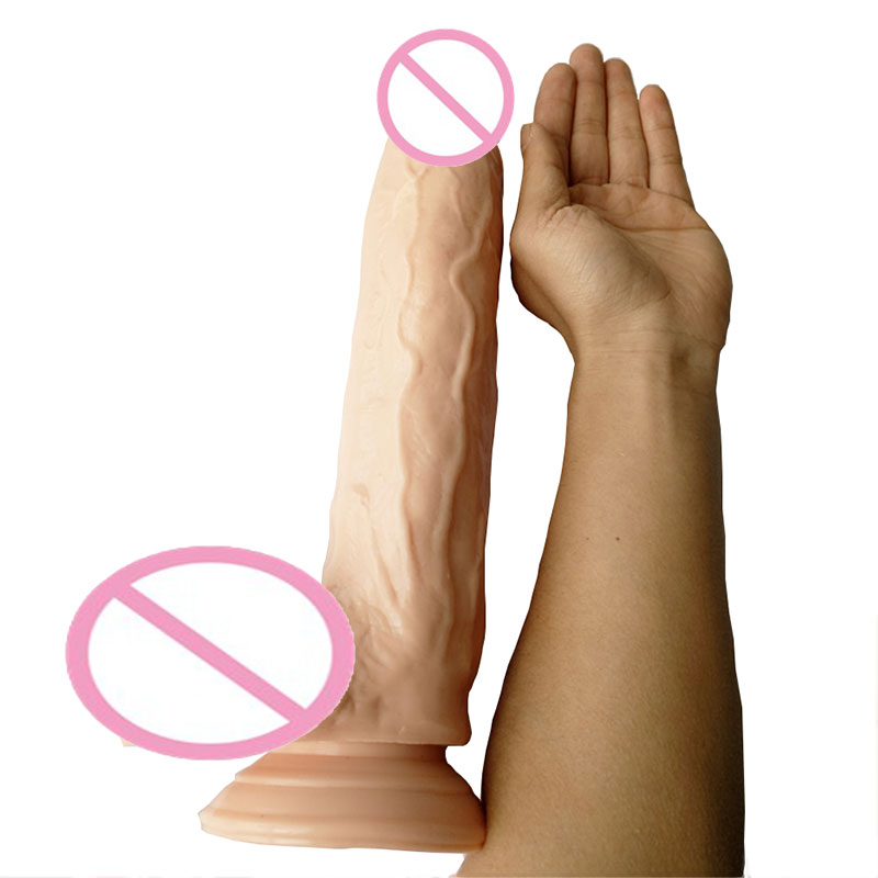Realistic Soft Big Dildo Silicone Penis Dick With Strong Suction Cup Huge Dildos Cock Adult Sex Toys for Women Large Big dildo realistic big skin dildo vibrators for women silicone flexible penis dick huge dildos cock adult sex products sex toys for women