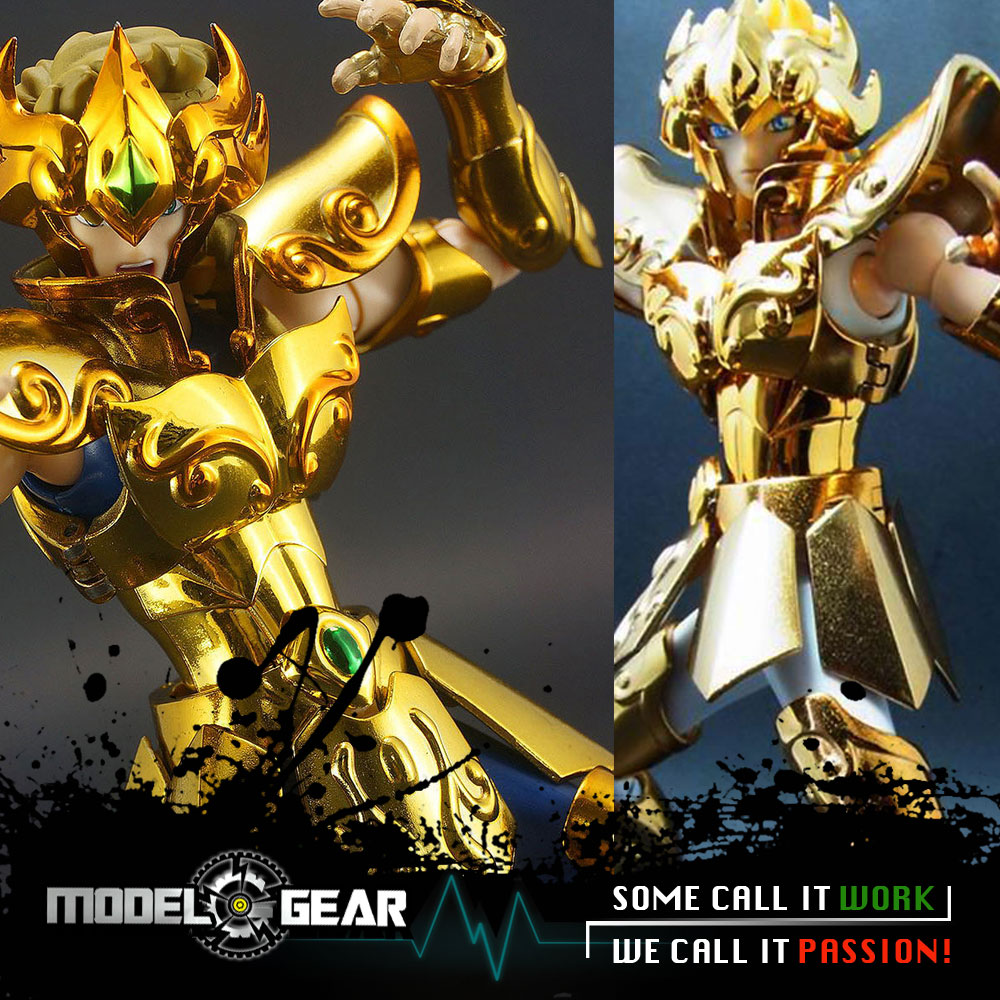 Metal Club MC Metalclub Model Leo Aiolia Saint Seiya Metal Armor Myth Cloth Gold Ex Action Figure Toys TV Ver. OCE Ver.