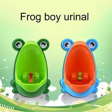 Милый дизайн лягушка висячий Писсуар для детей Детский горшок для мальчика настенный Детский горшок для унитаза тренировочный туалет для ванной комнаты
