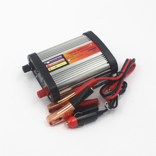 Car Inverter DC12V/24V to AC 220V 700W Power Converter 12V to 220v Inversor Adapter Modified Sine Wave Power with 2 USB Charge