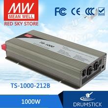 цена на Selling Hot! MEAN WELL original TS-1000-212B EUROPE Standard 230V meanwell TS-1000 1000W True Sine Wave DC-AC Power Inverter